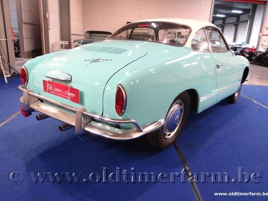 Volkswagen Karmann Ghia Coupé Light Blue '66 (1966)