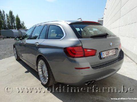 BMW 520 D Touring Spacegraumetallic '13 (2013)