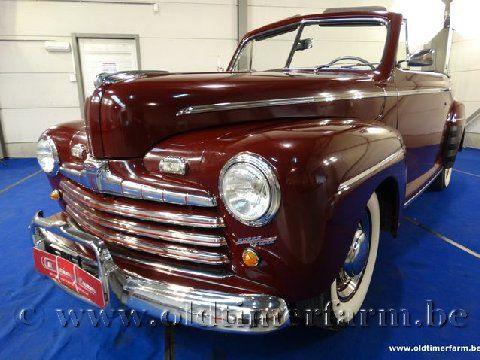Ford Super Deluxe Burgundy