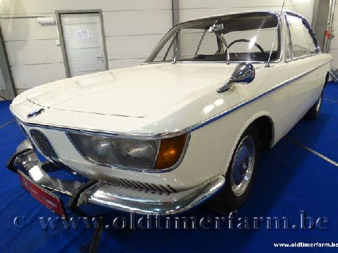 BMW  2000CS White '67