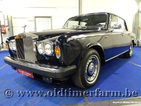 Rolls Royce Silver Shadow II Blue '79 (1979)