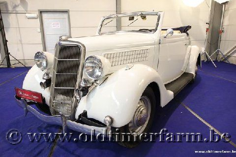Ford Model B Roadster V8 White