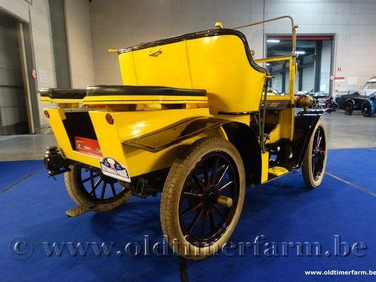 De Dion Bouton 8HP Yellow