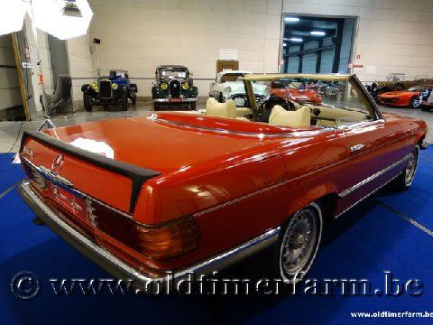 Mercedes-Benz 350SL Red '72 (1972)