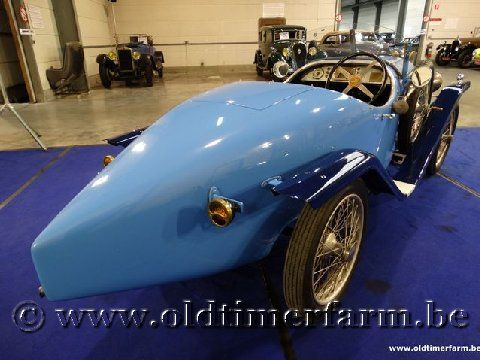 Amilcar CC Blue