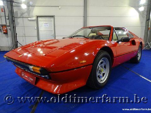 Ferrari 308 GTSi Quattrovalvole Red '84