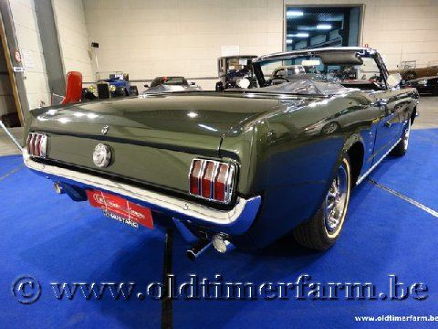 Ford Mustang V8 Convertible Green '66 (1966)