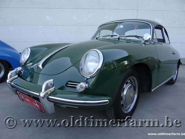Porsche 356 C Coupé Irish Green