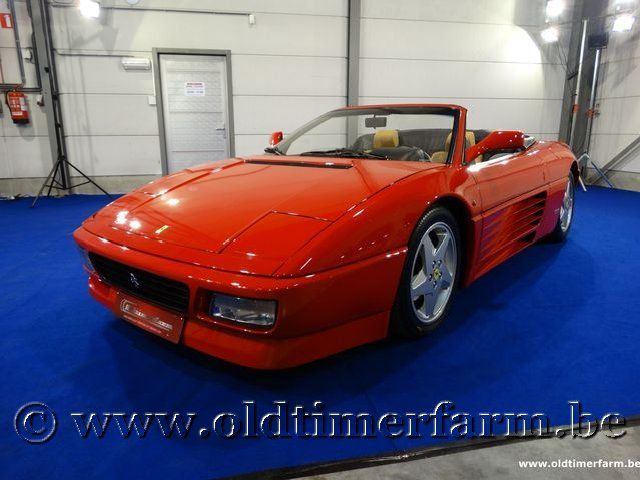Ferrari 348 Spider Red '93