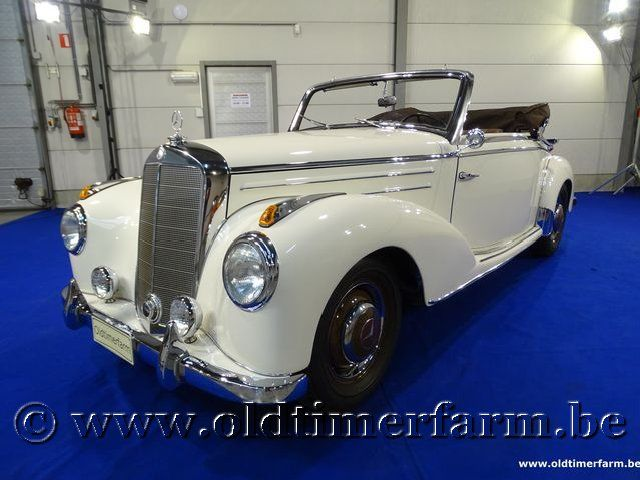 Mercedes-Benz 220A Cabriolet '53