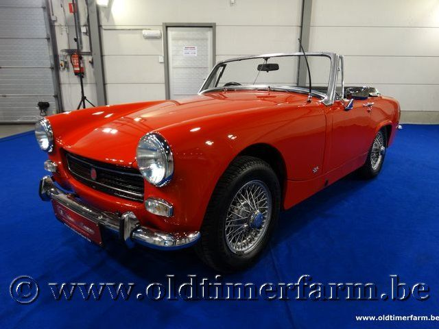 MG Midget Red