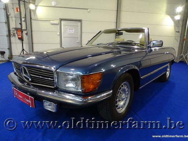 Mercedes-Benz 380SL Blue '82