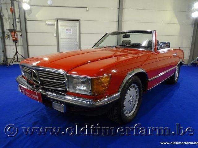 Mercedes-Benz 280SL Red '85