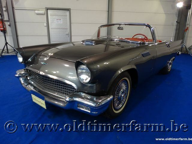 Ford Thunderbird Grey '57 (1957)