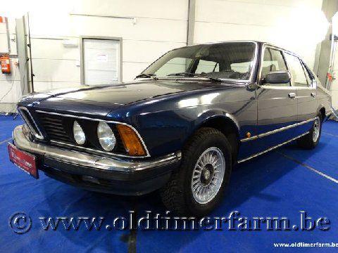 BMW 735i Blue '82