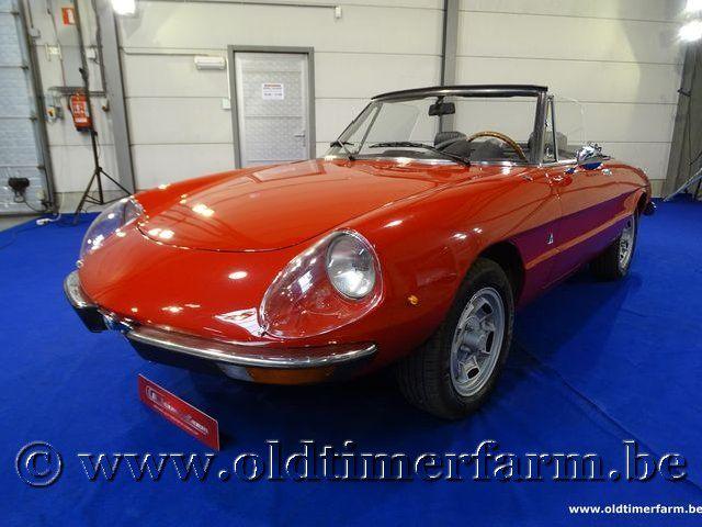 Alfa Romeo 2000 Spider Veloce Red '72