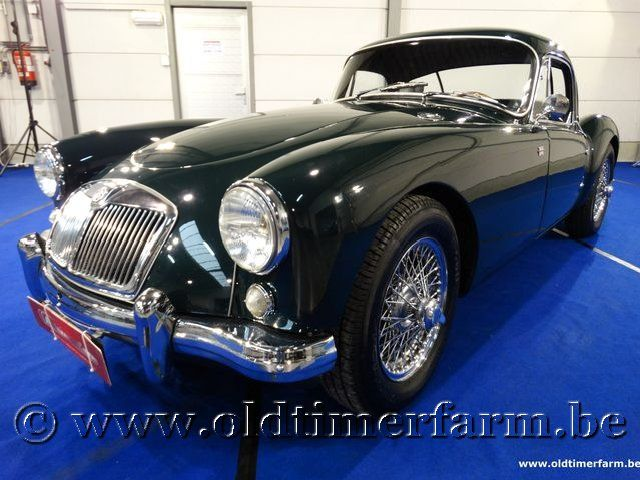 MG A Coupé Green '59