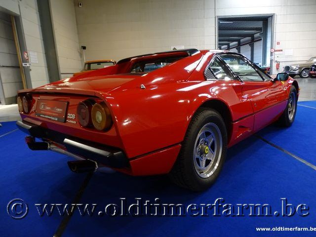 Ferrari 208 GTB Turbo Red