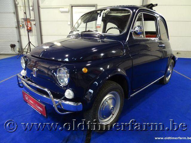 Fiat 500L Blue '70