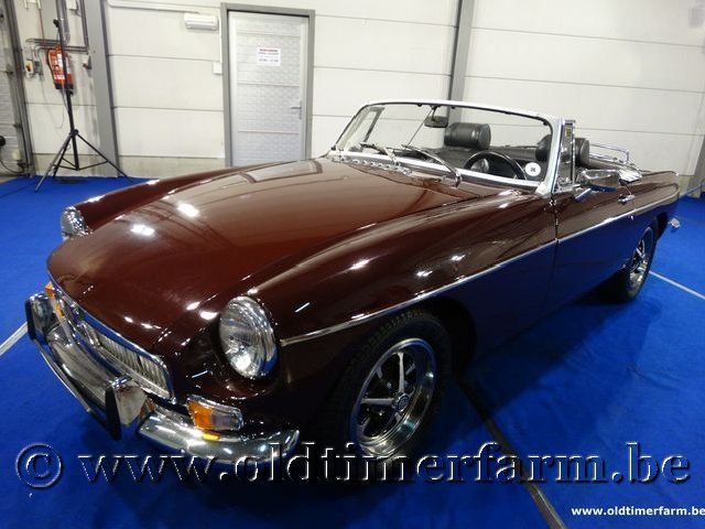 MG B Roadster Bordeaux '71