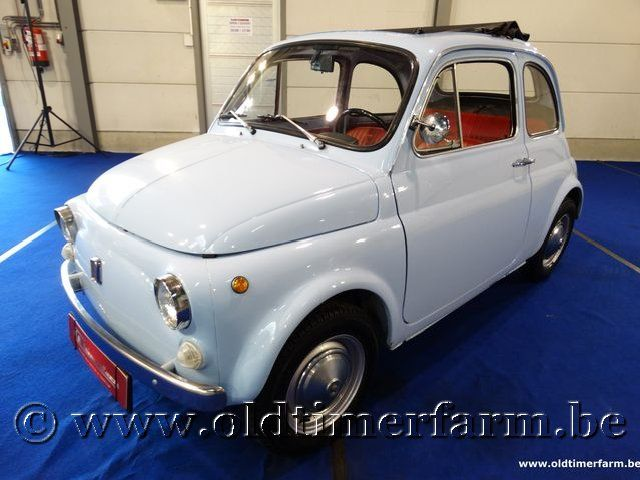 Fiat 500L Baby Blue '70