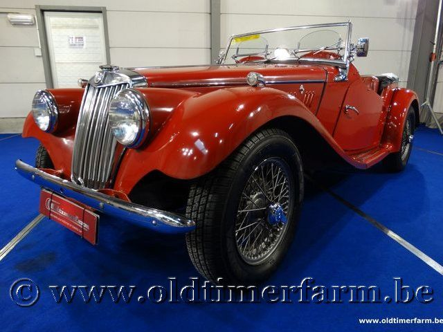 MG TF Roadster Red '54