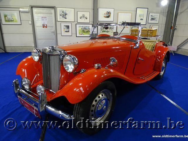 MG TD Red