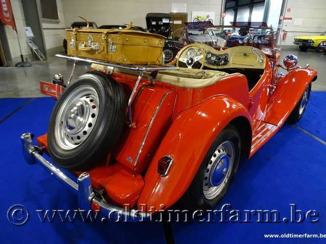MG TD Red '52 (1952)