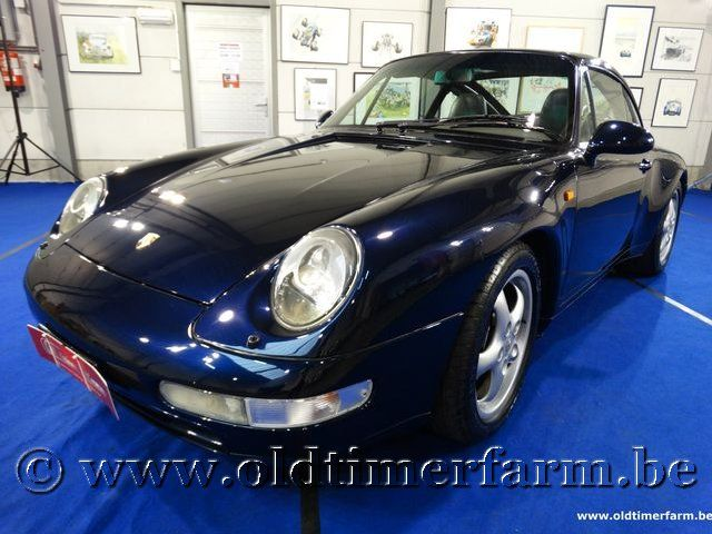 Porsche  911-993 Targa Dark Blue '96