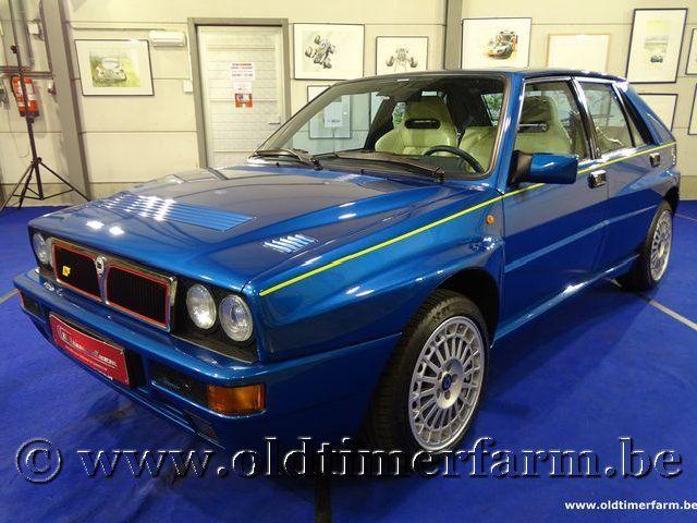 Lancia Delta HF Integrale Evo 2 Blue Lagos '95
