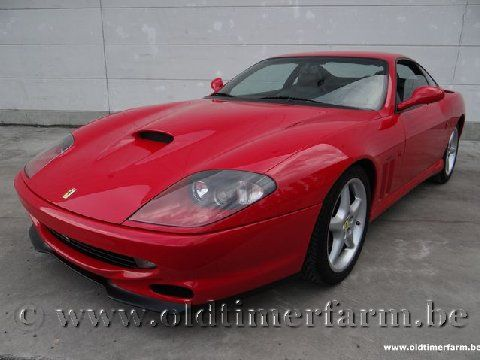 Ferrari 550 Maranello Red '97