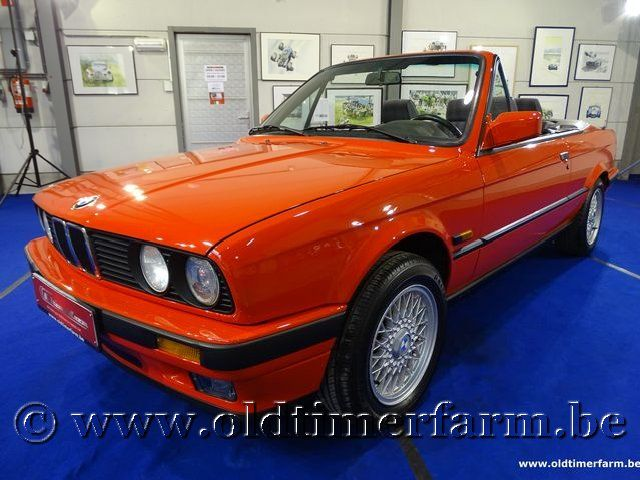 BMW 318i E30 Cabriolet '91