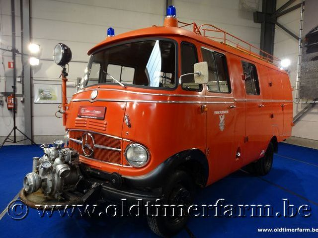 Mercedes-Benz L319 Fire Truck '63
