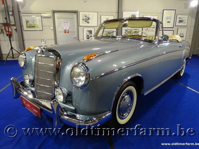 Mercedes-Benz 220 SE Ponton Cabriolet  '60
