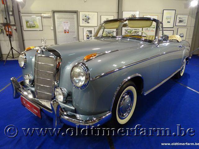 Mercedes-Benz 220SE Ponton Cabriolet  '60