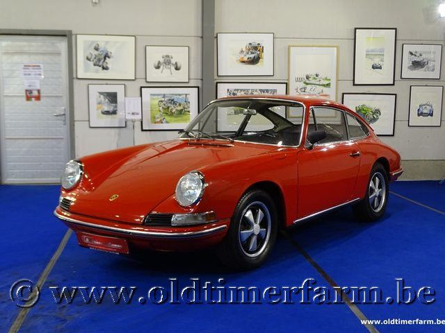 Porsche 912 Karmann Coupé Red '66