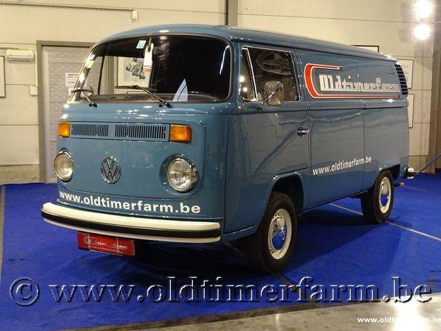 Volkswagen T2b Panel Van '74