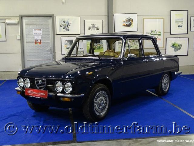Alfa Romeo Nuova Giulia 1600 Super '77
