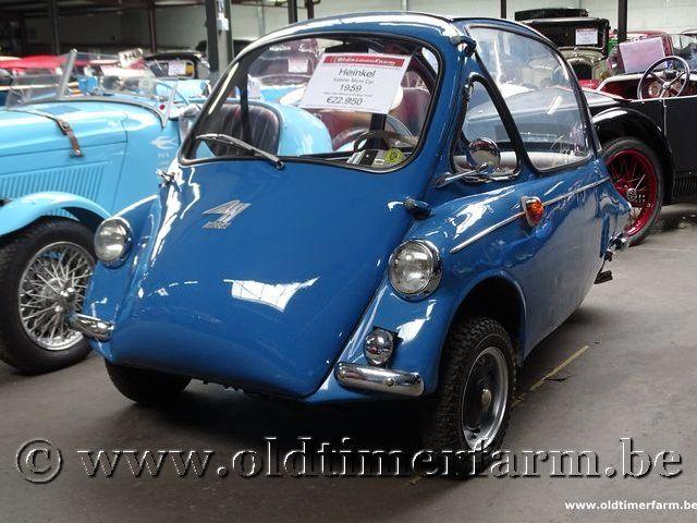 Heinkel Kabine Micro Car '59