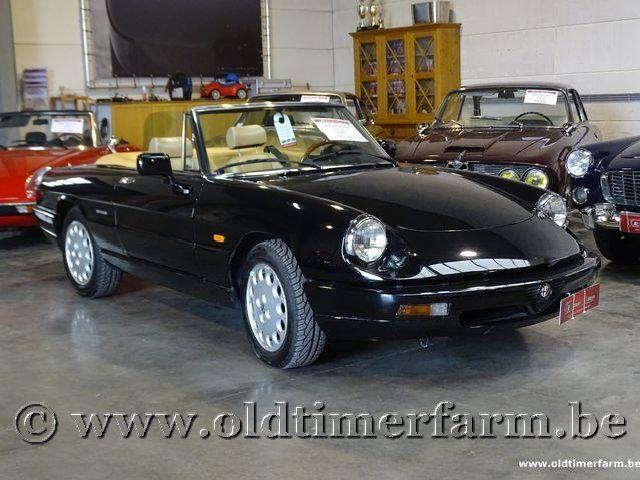 Alfa Romeo Spider 2000 Black '91