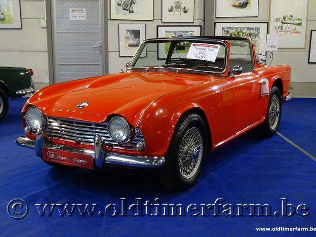 Triumph TR4 Red '64