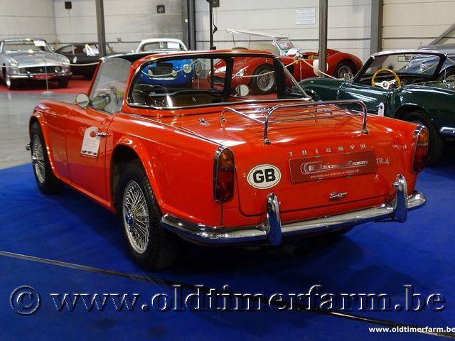 Triumph TR4 Red