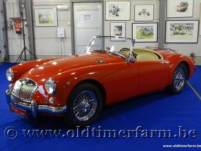 MG A 1500 Roadster Red '60