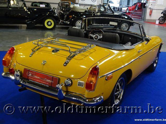 MG B Roadster Yellow Bronze '72 (1972)