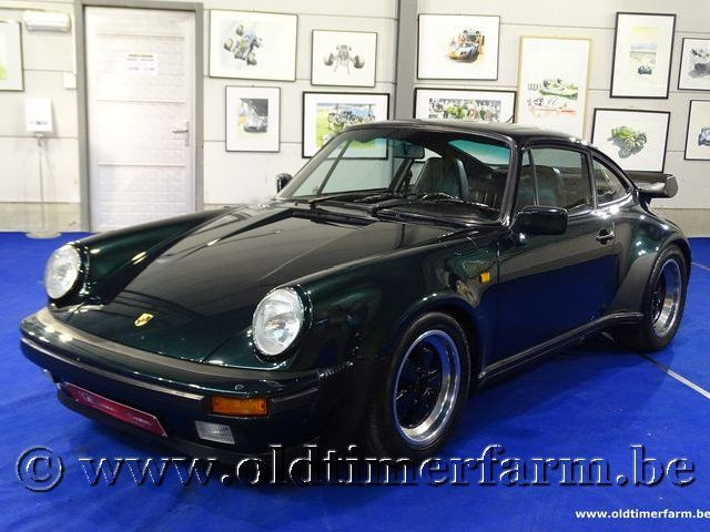 Porsche 911 3.2 WTL Coupé Green '83