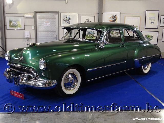 Oldsmobile 98 Green '48 (1948)