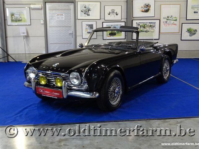Triumph TR4 Black '65
