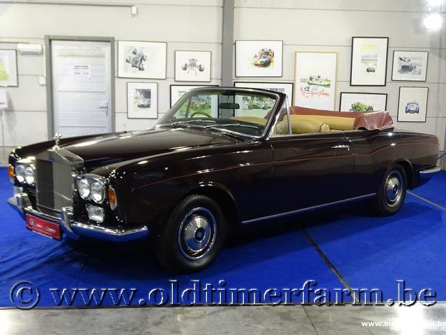 Rolls Royce Corniche I Convertible