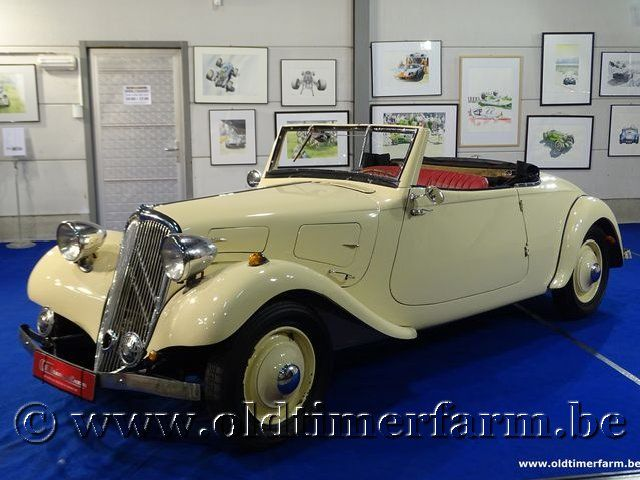 Citroën Traction Avant Cabriolet (réplique) '34