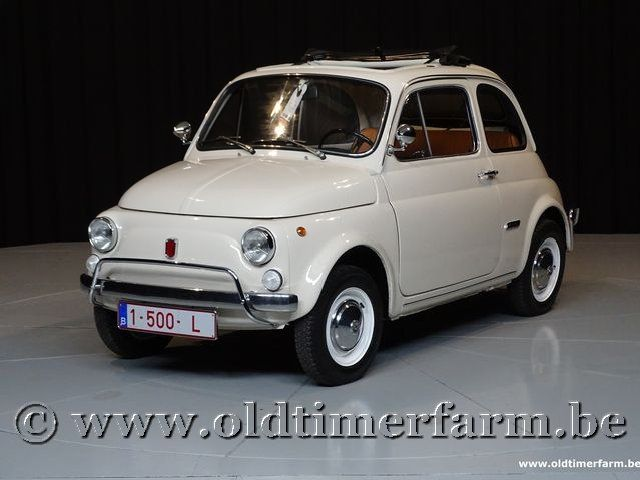Fiat 500L White '70